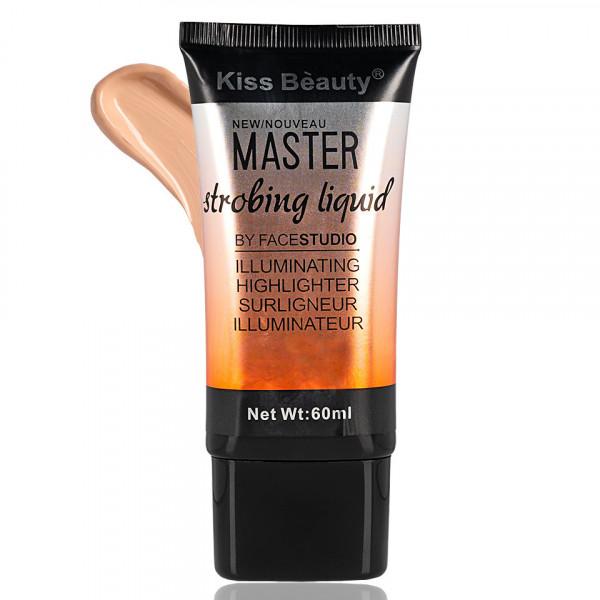 Poze Fond de Ten Lichid Kiss Beauty Master Strobing Liquid #01, 60 ml