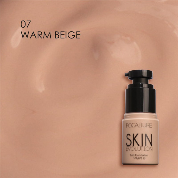 Poze Fond de Ten Skin Evolution - Warm Beige  FOCALLURE