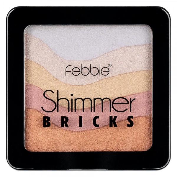Poze Iluminator Pudra Febble Shimmer Bricks #01