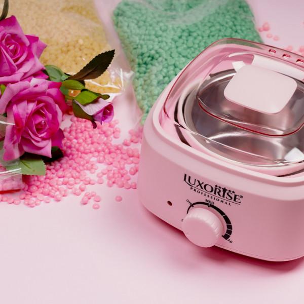 Poze Incalzitor Ceara Epilat PRO WAX 200 - LUXORISE Germania, Pink, 500 ml