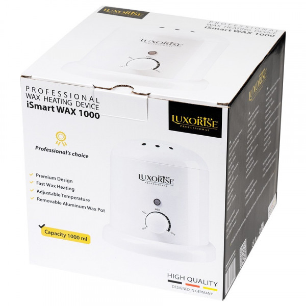 Poze Incalzitor Ceara iSmart WAX - LUXORISE Germania, alb, 1000 ml