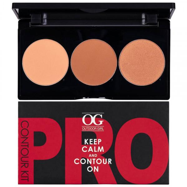 Poze Kit Contur & Iluminator fata 3 culori - PRO Contour Kit #02