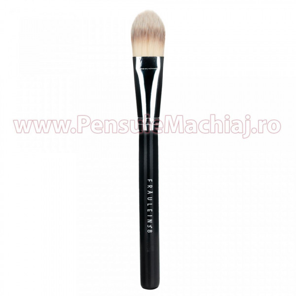Poze Pensula Machiaj Profesionala Fraulein38 Foundation Brush FR10FB