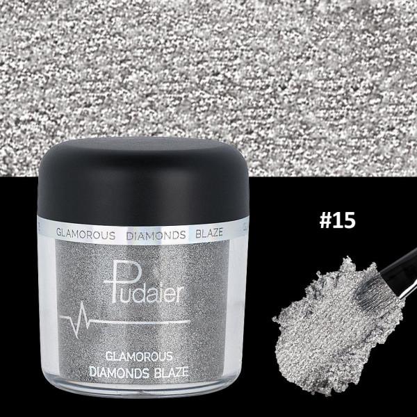 Poze Pigment Machiaj Ochi #15 Pudaier - Glamorous Diamonds