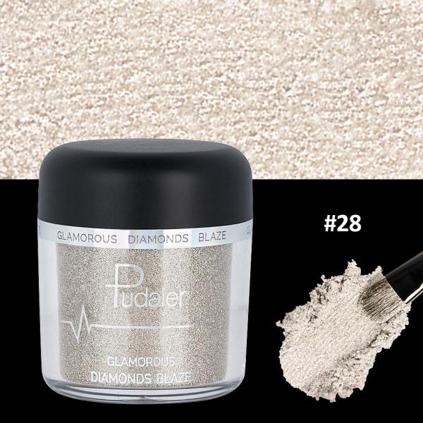 Poze Pigment Machiaj Ochi #28 Pudaier - Glamorous Diamonds