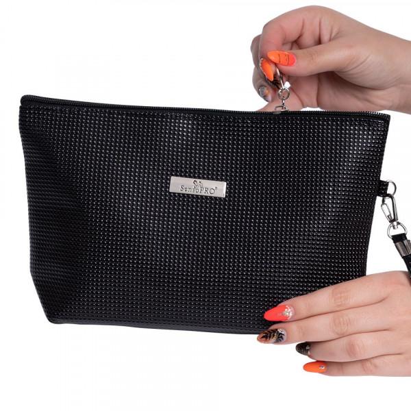 Poze Portfard Cosmetice SensoPRO, Black Touch