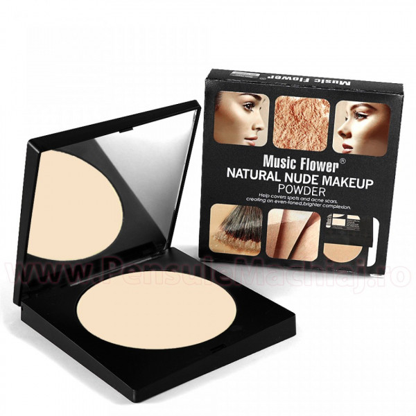 Poze Pudra Nude 101 Music Flower - Long Lasting