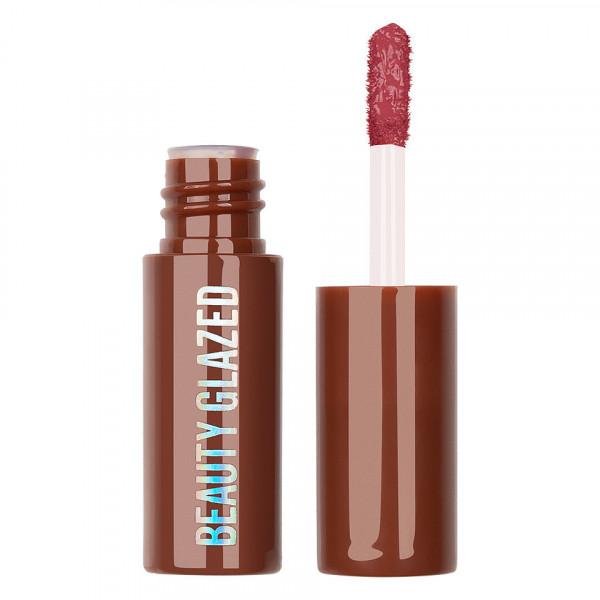 Poze Ruj lichid mat Beauty Glazed Chocolate Silky Lipgloss, Plum Mauve #104