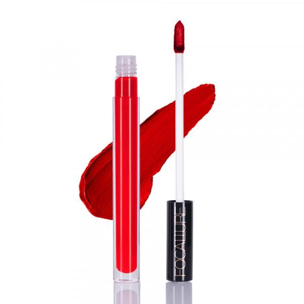Poze Ruj lichid mat Focallure Alizarin Crimson #01