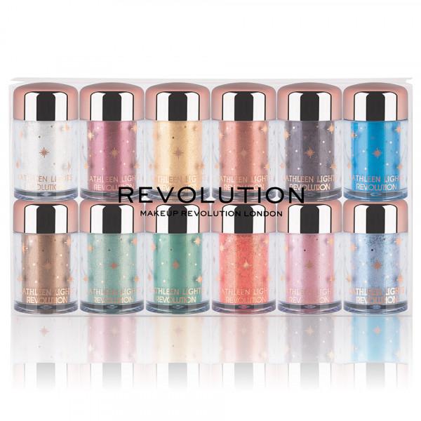 Poze Set 12 Pigmenti Machiaj Ochi MakeUp Revolution