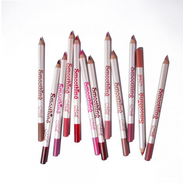 Poze Set Creioane de Buze 12 culori - Smoothing