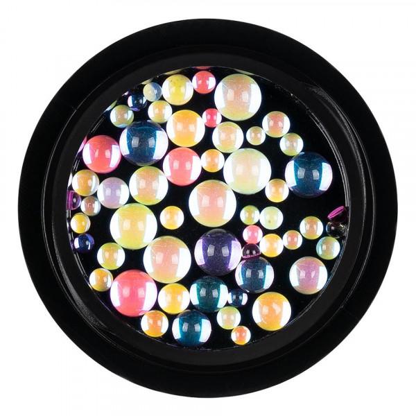 Poze Strasuri Machiaj Crystal Rainbow Drops, LUXORISE