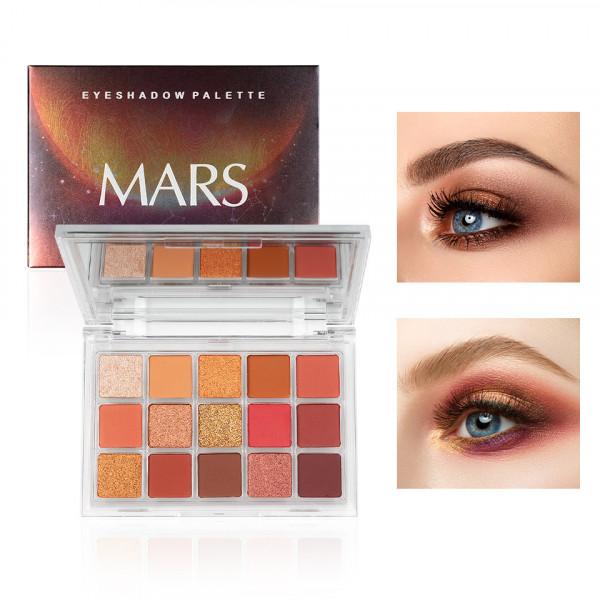 Poze Trusa 15 Farduri QIBEST Mars #04