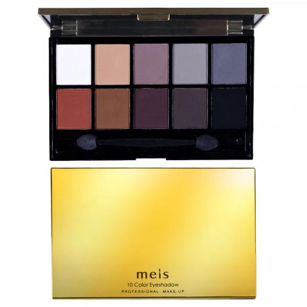 Poze Trusa Farduri 10 culori mate - #03 Matte Smokey Eyes Luxury Palette