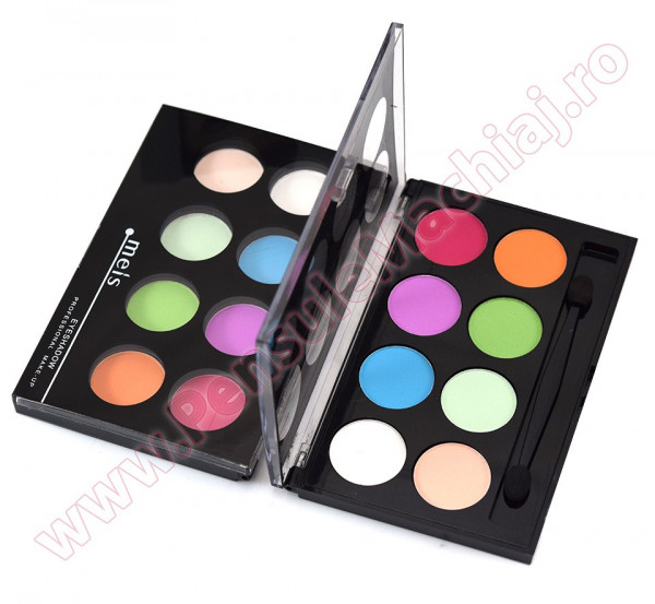 Poze Trusa Farduri 8 culori mate #01 Eyeshadow Meis - Crazy Colors