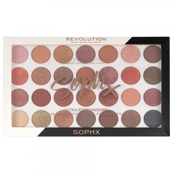 Poze Trusa Farduri MakeUp Revolution SophX + CADOU Kit sprancene 2 in 1