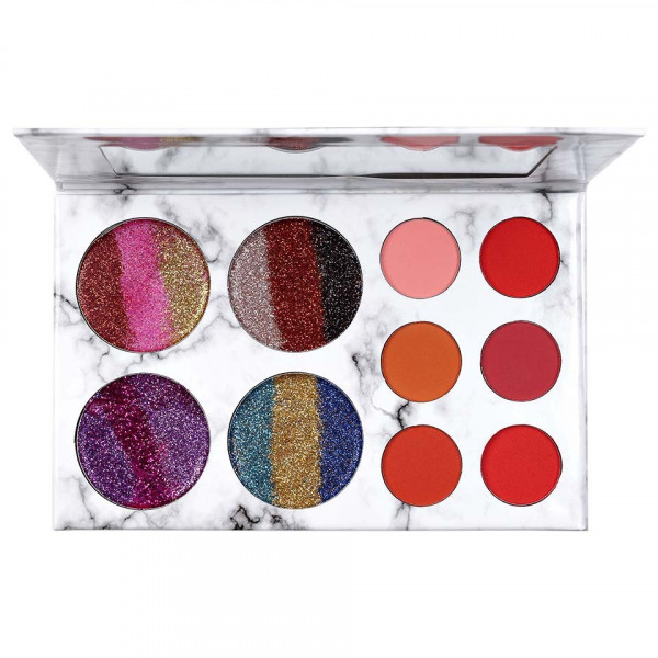 Poze Trusa Farduri si Glitter Glamierre Rainbow Limited Edition