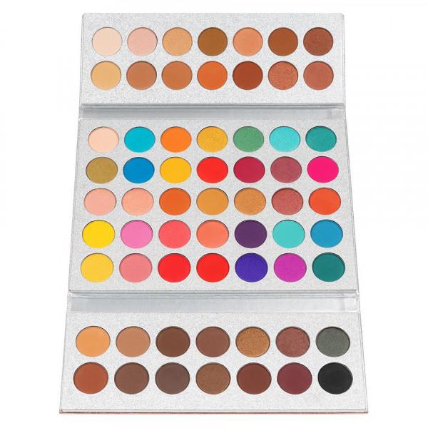 Poze Trusa Machiaj 63 culori Stylish Dolly + CADOU Set 15 pensule SensoPRO Milano
