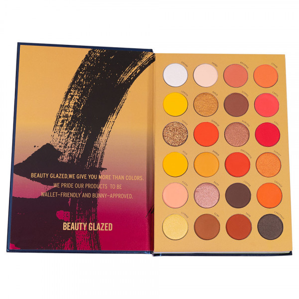 Poze Trusa Machiaj 72 Culori Color Book Beauty Glazed