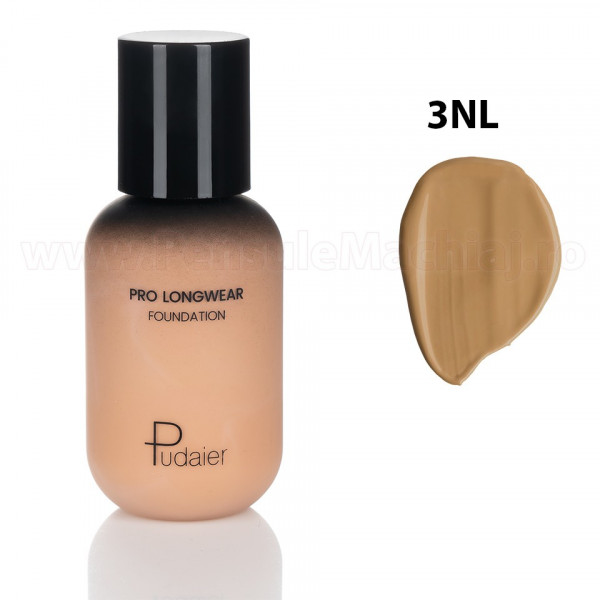 Poze Fond de Ten Pudaier Lasting Makeup Foundation 3NL