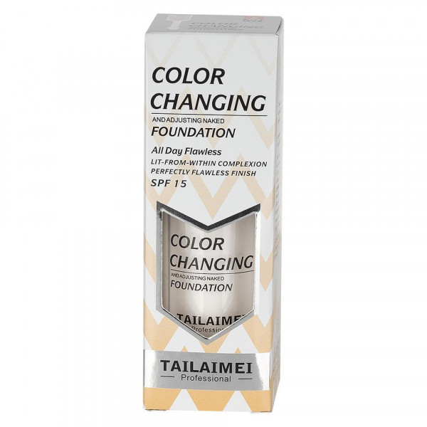 Poze Fond de Ten TLM Waterproof Color Changing SPF 15, White 40ml