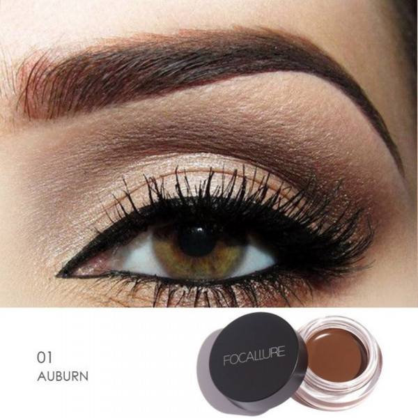Poze Gel Sprancene Focallure Brow Ink #Auburn