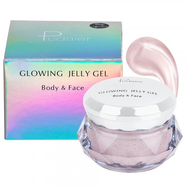 Poze Iluminator crema pentru fata si corp Pudaier Glowing Jelly #01