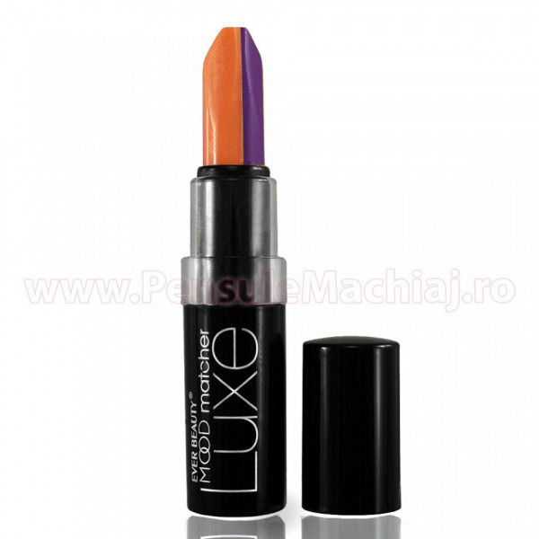Poze Ruj  2 in 1  Duo Color Lip Stick Ever Beauty 36 hours#105 - Creamy Lip
