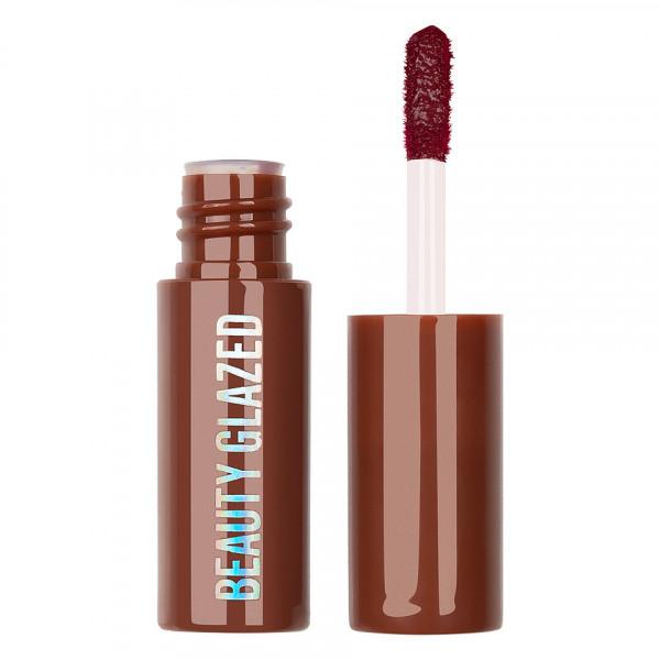 Poze Ruj lichid mat Beauty Glazed Chocolate Silky Lipgloss, Red Wine #105