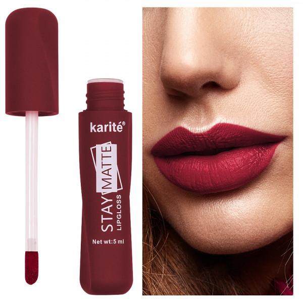 Poze Ruj lichid mat Karite Stay Matte Lipgloss #12