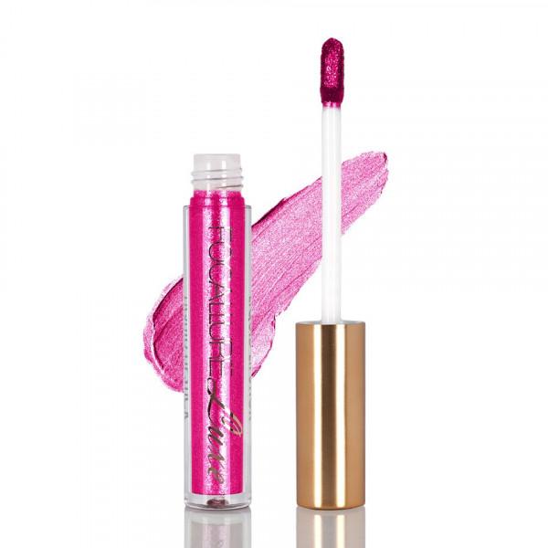 Poze Ruj metalic lichid mat Focallure Luxe Stripper Pink #34