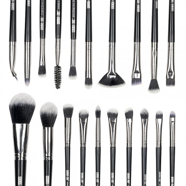 Poze Set 20 pensule machiaj Angel Face - Black