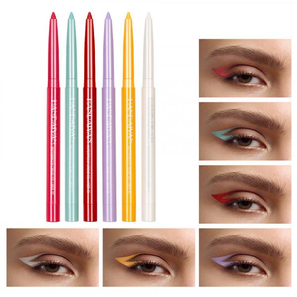Poze Set Creion Retractabil pentru Contur Ochi Handaiyan #01, 6 buc