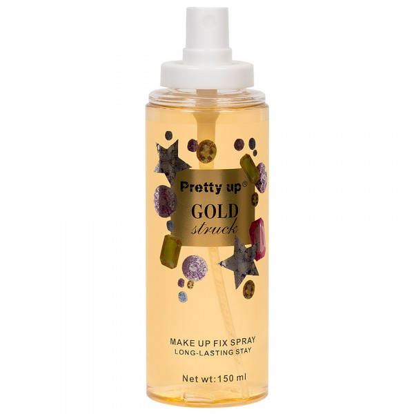 Poze Spray Fixare Machiaj Gold Struck Pretty Up, 150ml