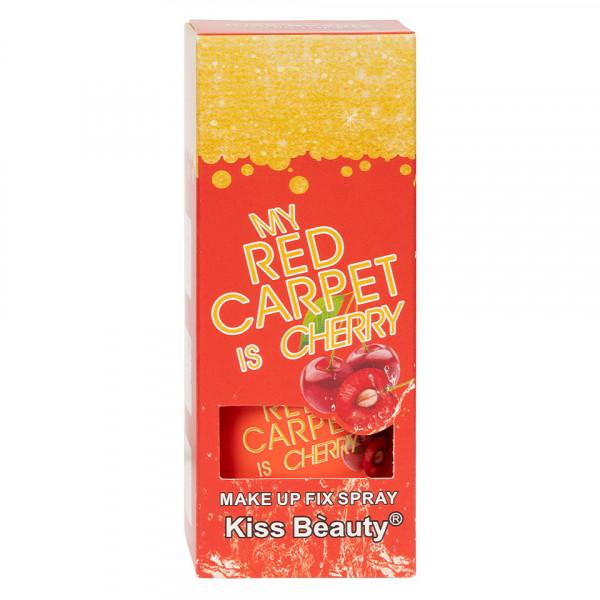 Poze Spray Fixare Machiaj Kiss Beauty Cherry, 115ml