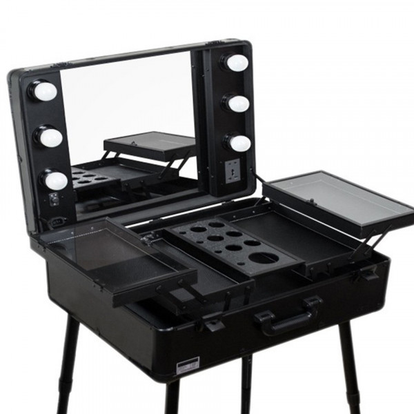 Poze Statie Make-Up Profesionala Premium - Statie Machiaj Black