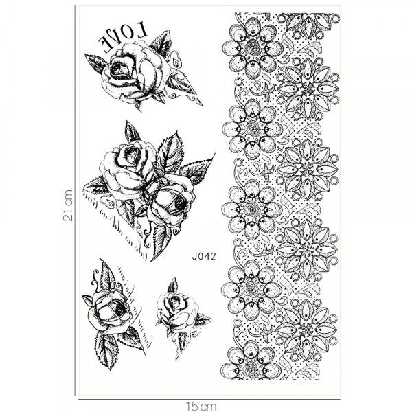 Poze Tatuaj Temporar LUXORISE Henna Temptation Classic Ink J042