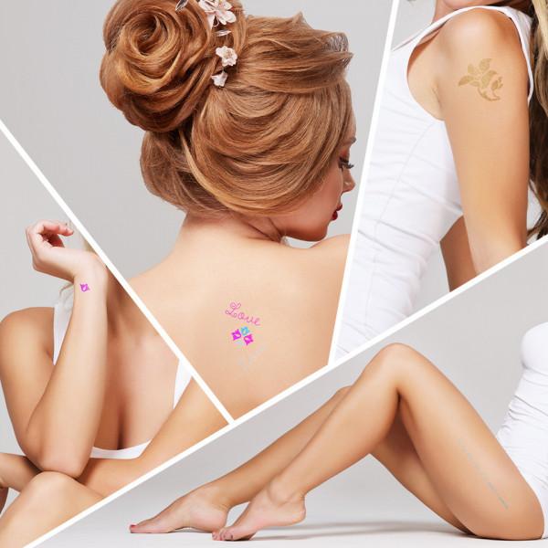 Poze Tatuaj Temporar LUXORISE Henna Temptation Gold Edition E025