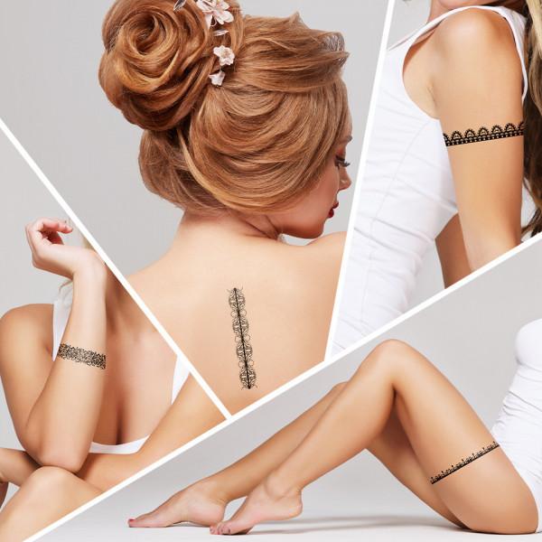 Poze Tatuaj Temporar LUXORISE Henna Temptation Keep It Simple J012