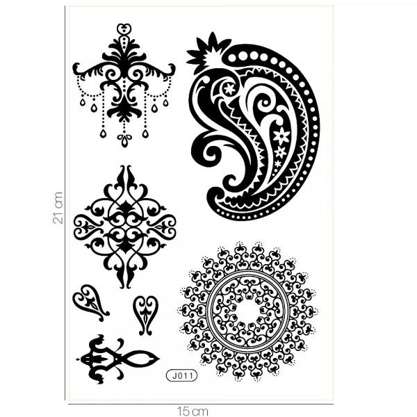 Poze Tatuaj Temporar LUXORISE Henna Temptation Temporary Inked J011