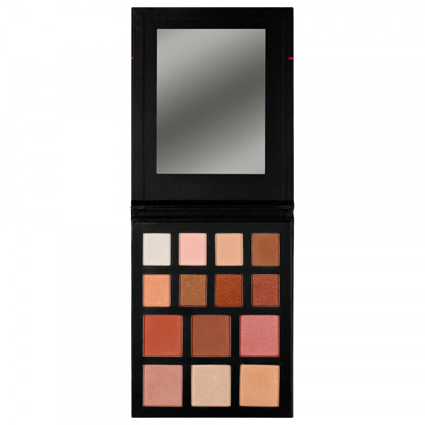 Poze Trusa Farduri, Iluminator, Blush - Bronzed Shine Palette Kiss Beauty