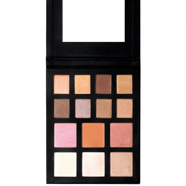 Poze Trusa Farduri, Iluminator, Blush - Natural Love Palette Kiss Beauty