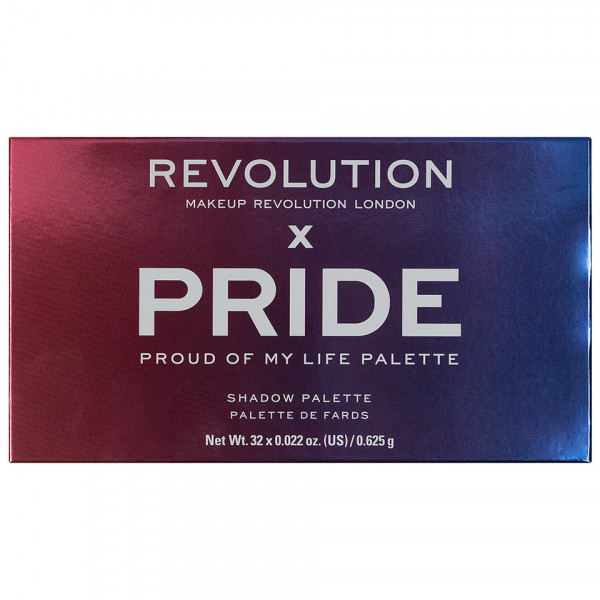 Poze Trusa Farduri MakeUp Revolution Pride