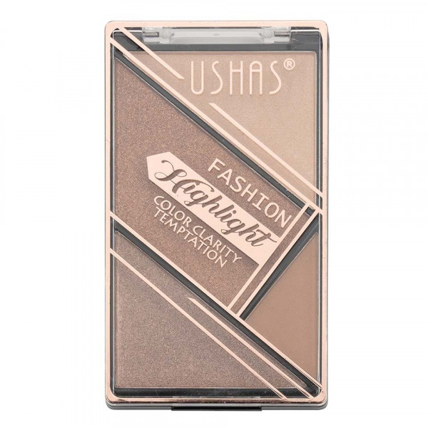 Poze Trusa Iluminator si Bronzer Ushas Fashion Highlighter #02
