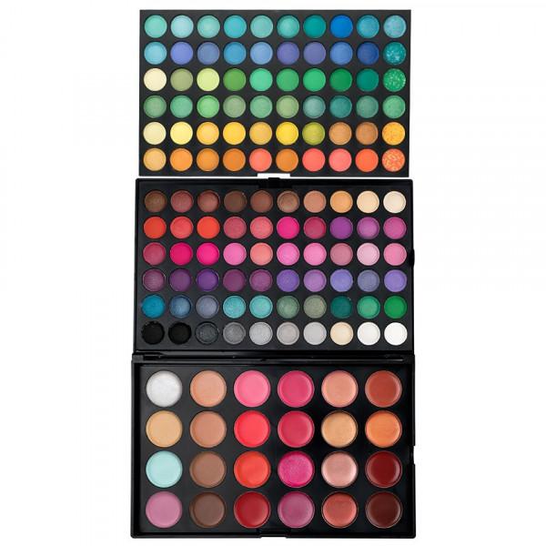 Poze Trusa Machiaj 144 culori cu ruj si corector Fraulein38 Make Up Diva