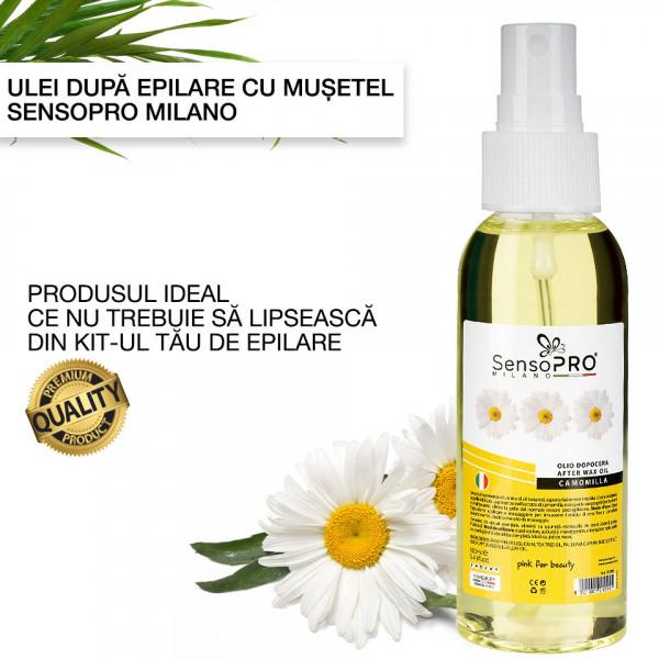 Poze Ulei dupa Epilare cu Musetel SensoPRO Milano - 100 ml