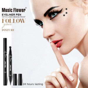 Eyeliner Lichid cu Stampila 2 in 1 Magic Eyeliner
