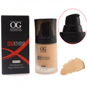 Fond de Ten SPF 15 High Definition Waterproof - #07 ten masliniu