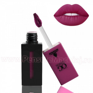 Lip Gloss Matt Outdoor Girl  #112 - Dark Magenta