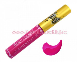 Lip Gloss rezistent la transfer mat Beauty of Mind #06 - Purple Sun